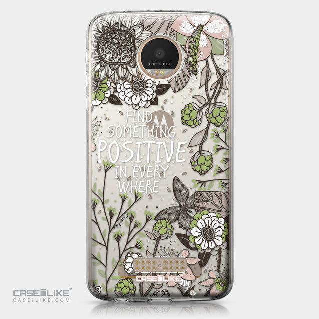 Motorola Moto Z Play case Blooming Flowers 2250 | CASEiLIKE.com