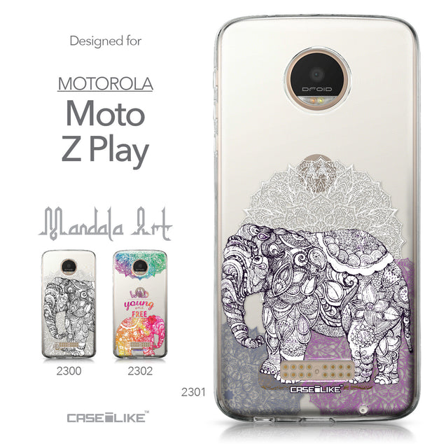 Motorola Moto Z Play case Mandala Art 2301 Collection | CASEiLIKE.com