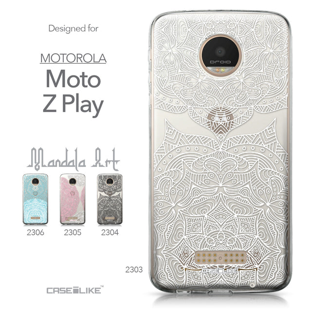 Motorola Moto Z Play case Mandala Art 2303 Collection | CASEiLIKE.com