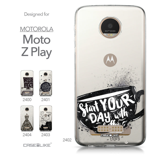 Motorola Moto Z Play case Quote 2402 Collection | CASEiLIKE.com