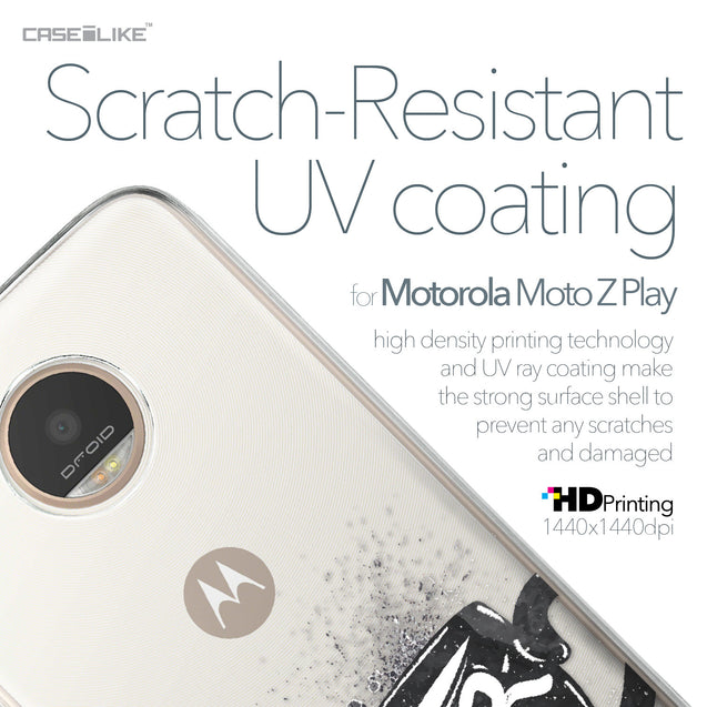Motorola Moto Z Play case Quote 2402 with UV-Coating Scratch-Resistant Case | CASEiLIKE.com
