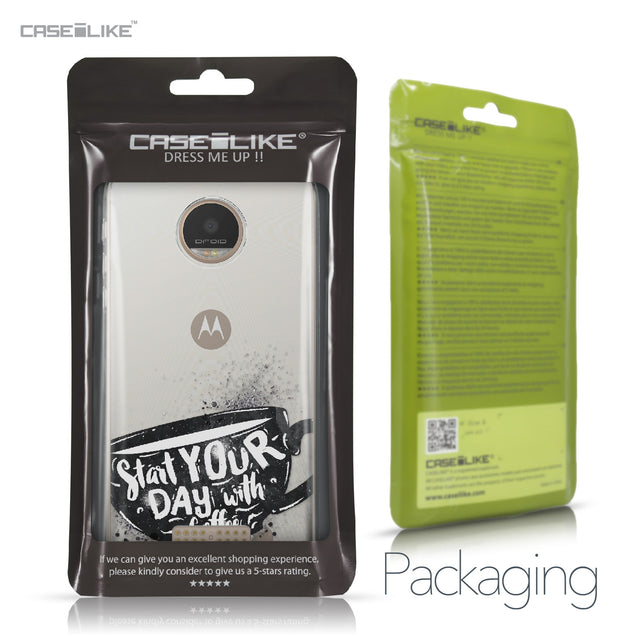 Motorola Moto Z Play case Quote 2402 Retail Packaging | CASEiLIKE.com