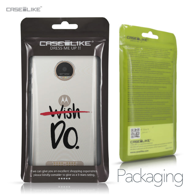 Motorola Moto Z Play case Quote 2407 Retail Packaging | CASEiLIKE.com
