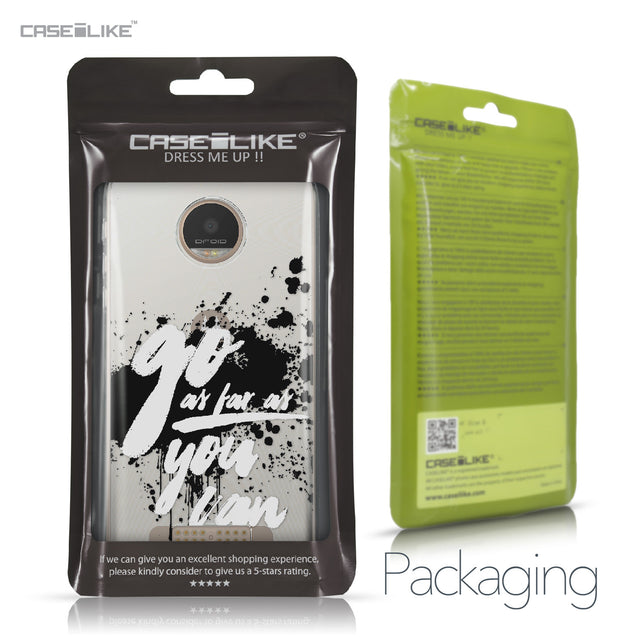 Motorola Moto Z Play case Quote 2415 Retail Packaging | CASEiLIKE.com