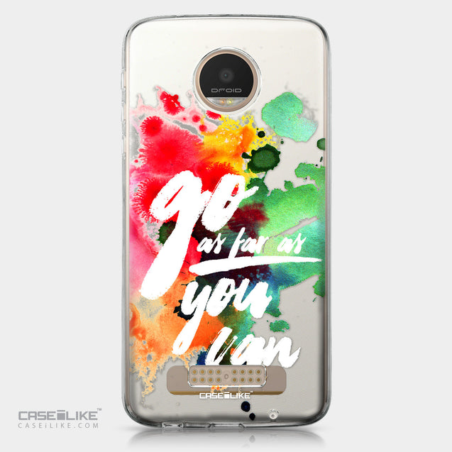 Motorola Moto Z Play case Quote 2424 | CASEiLIKE.com