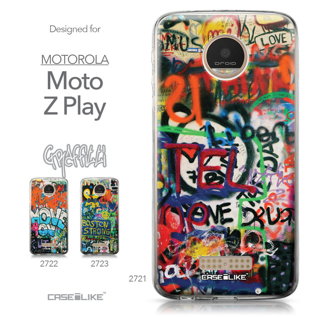Motorola Moto Z Play case Graffiti 2721 Collection | CASEiLIKE.com