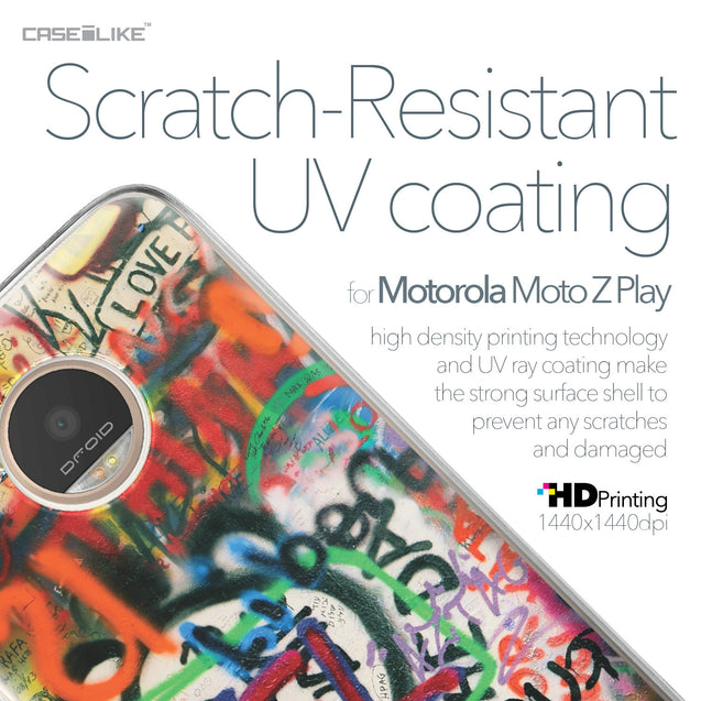 Motorola Moto Z Play case Graffiti 2721 with UV-Coating Scratch-Resistant Case | CASEiLIKE.com