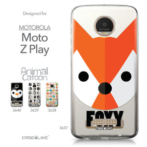 Motorola Moto Z Play case Animal Cartoon 3637 Collection | CASEiLIKE.com