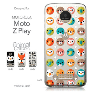 Motorola Moto Z Play case Animal Cartoon 3638 Collection | CASEiLIKE.com