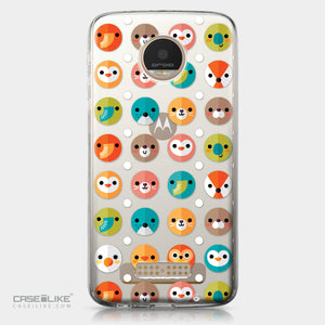 Motorola Moto Z Play case Animal Cartoon 3638 | CASEiLIKE.com