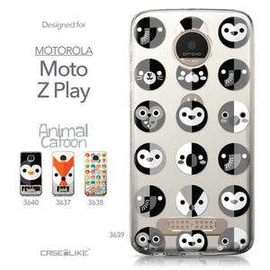 Motorola Moto Z Play case Animal Cartoon 3639 Collection | CASEiLIKE.com