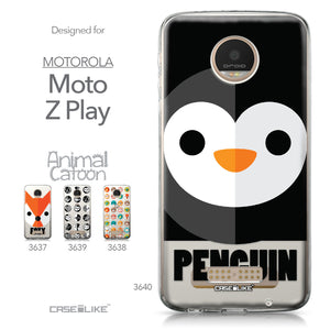 Motorola Moto Z Play case Animal Cartoon 3640 Collection | CASEiLIKE.com
