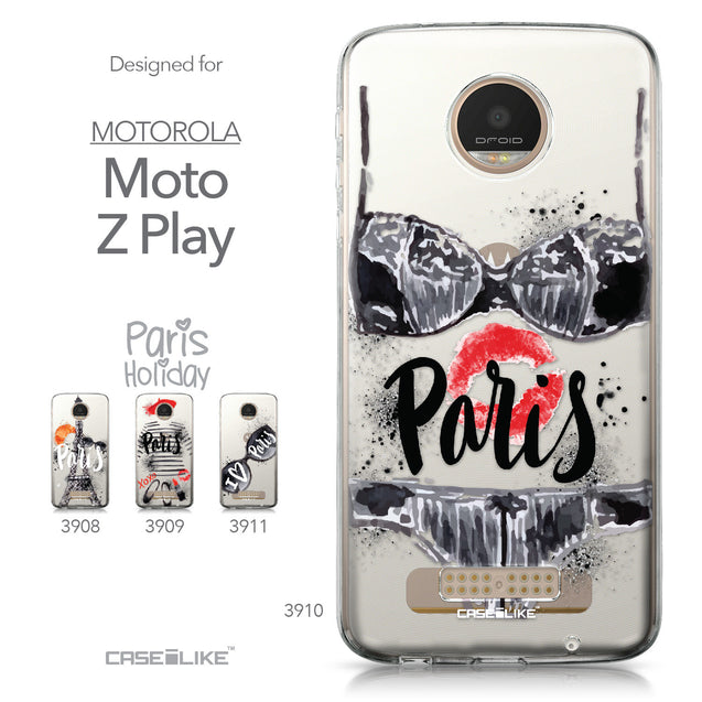 Motorola Moto Z Play case Paris Holiday 3910 Collection | CASEiLIKE.com