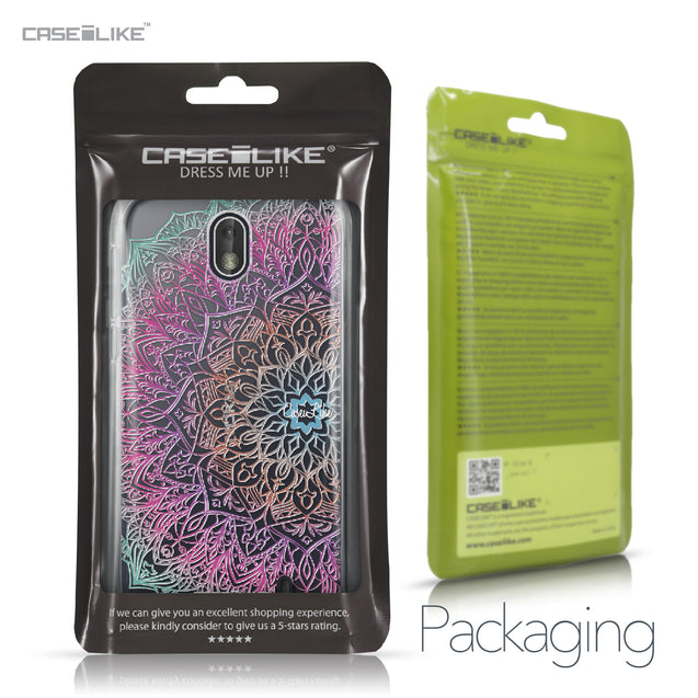 Nokia 1 case Mandala Art 2090 Retail Packaging | CASEiLIKE.com