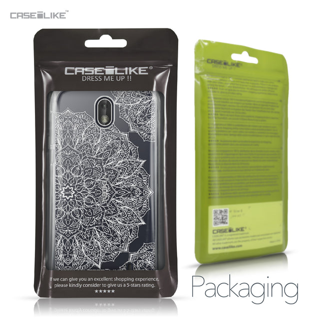 Nokia 1 case Mandala Art 2091 Retail Packaging | CASEiLIKE.com