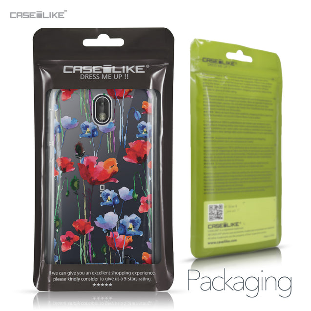 Nokia 1 case Watercolor Floral 2234 Retail Packaging | CASEiLIKE.com