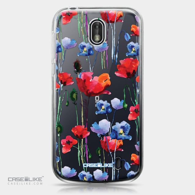 Nokia 1 case Watercolor Floral 2234 | CASEiLIKE.com