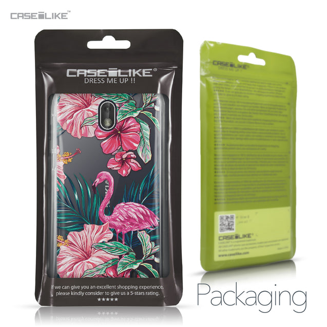 Nokia 1 case Tropical Flamingo 2239 Retail Packaging | CASEiLIKE.com