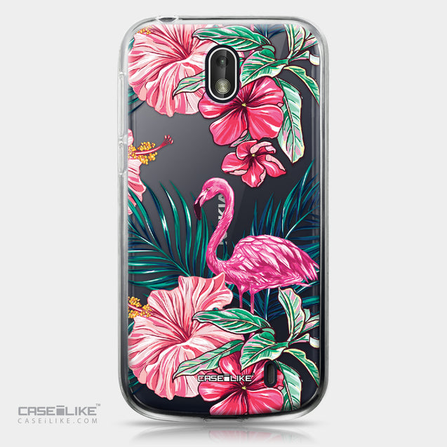 Nokia 1 case Tropical Flamingo 2239 | CASEiLIKE.com