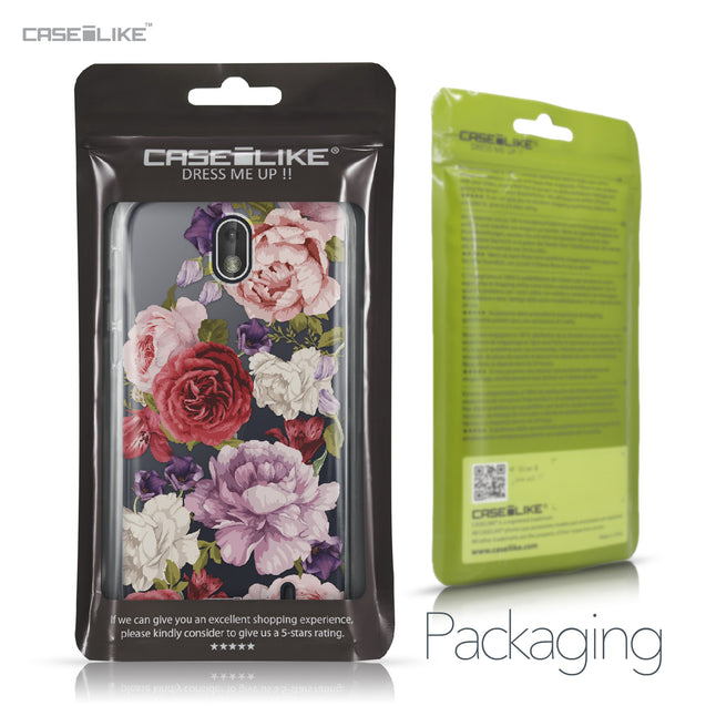 Nokia 1 case Mixed Roses 2259 Retail Packaging | CASEiLIKE.com