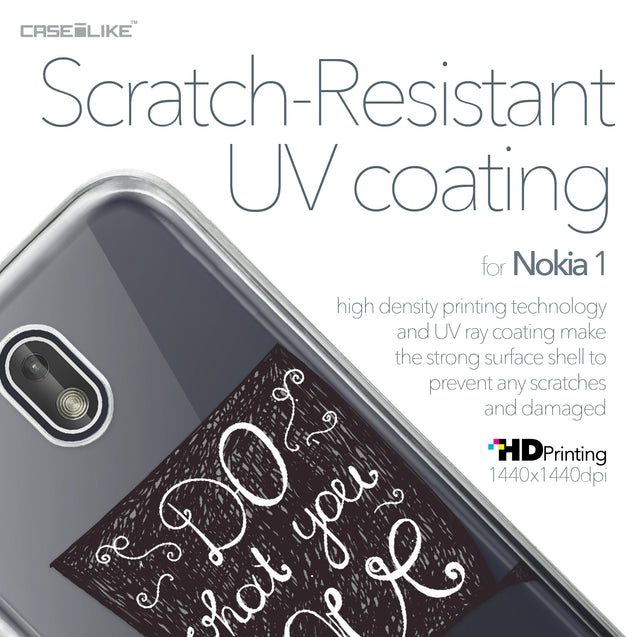 Nokia 1 case Quote 2400 with UV-Coating Scratch-Resistant Case | CASEiLIKE.com