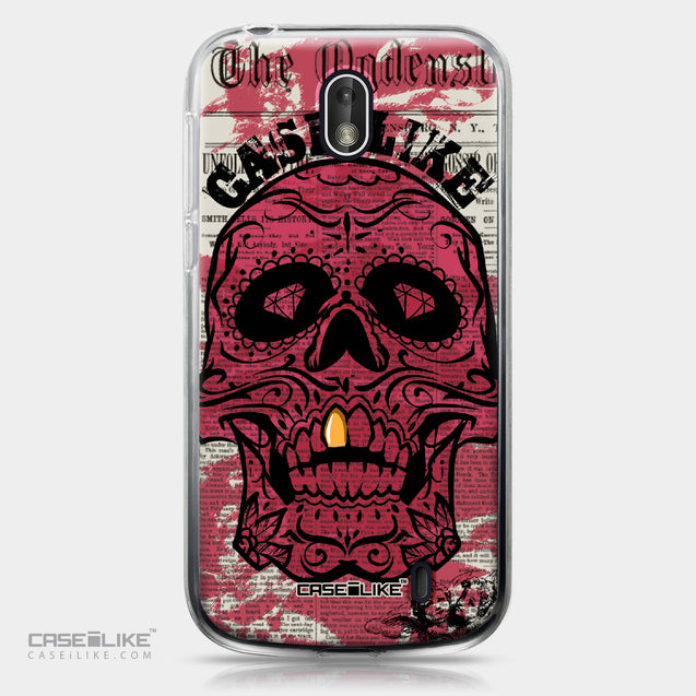 Nokia 1 case Art of Skull 2523 | CASEiLIKE.com