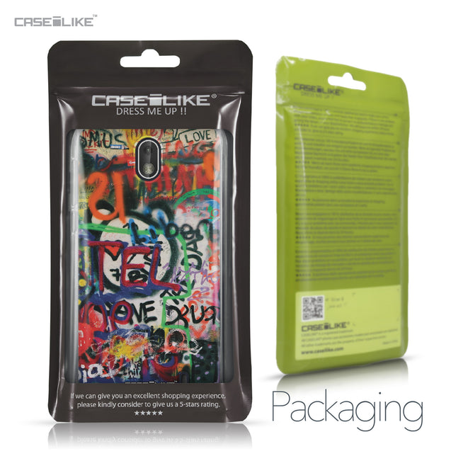 Nokia 1 case Graffiti 2721 Retail Packaging | CASEiLIKE.com