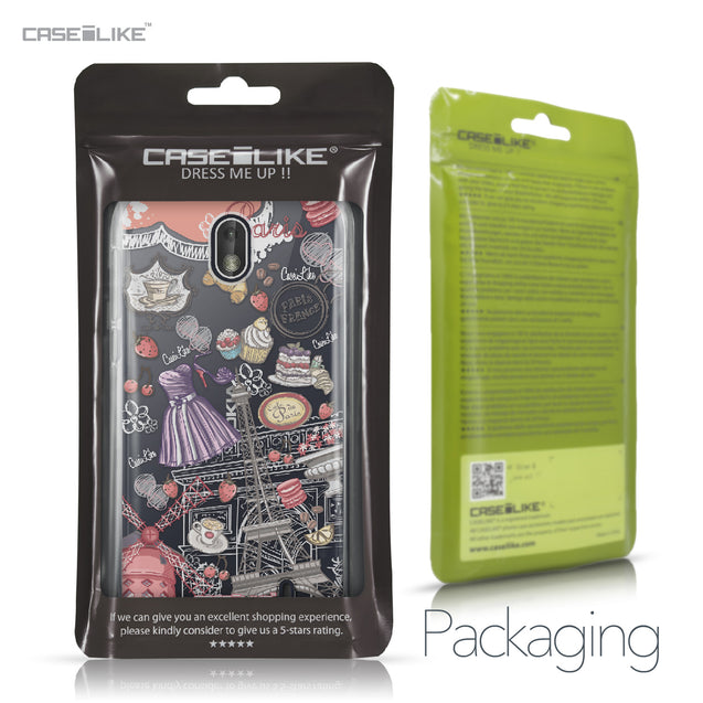 Nokia 1 case Paris Holiday 3907 Retail Packaging | CASEiLIKE.com