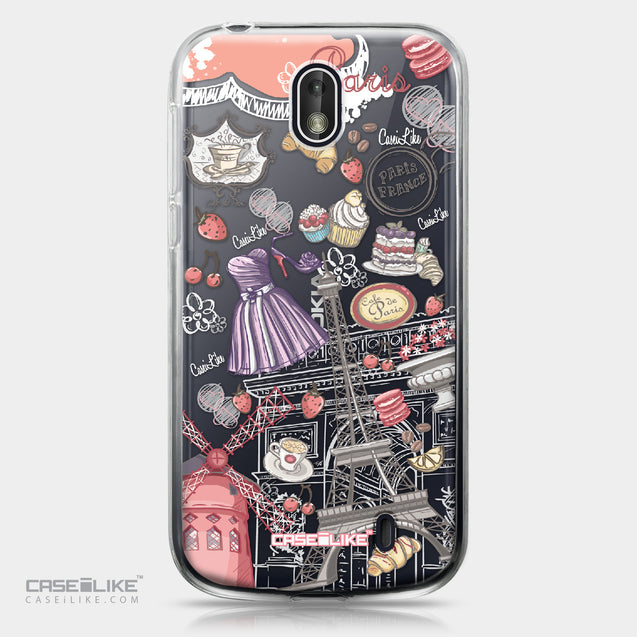 Nokia 1 case Paris Holiday 3907 | CASEiLIKE.com