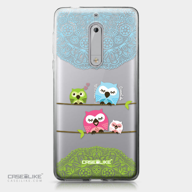 Nokia 5 case Owl Graphic Design 3318 | CASEiLIKE.com