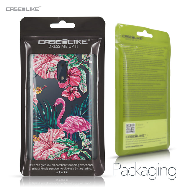 Nokia 6 case Tropical Flamingo 2239 Retail Packaging | CASEiLIKE.com