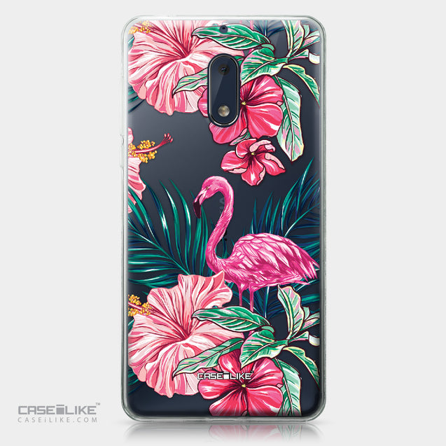 Nokia 6 case Tropical Flamingo 2239 | CASEiLIKE.com