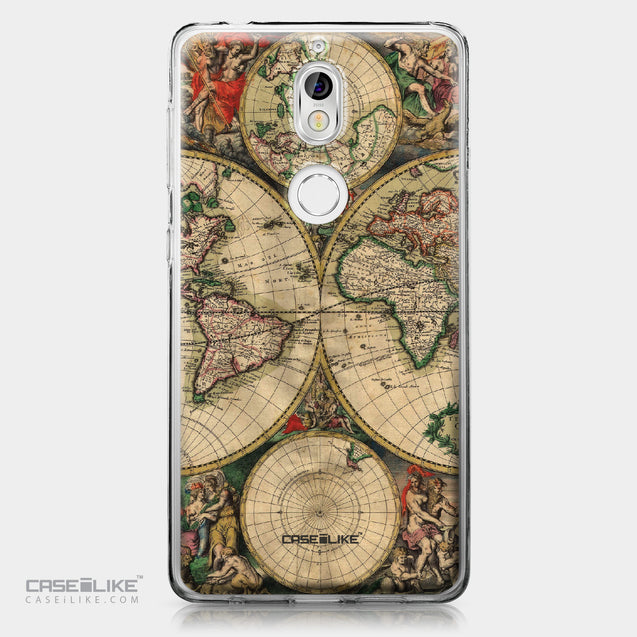 Nokia 7 case World Map Vintage 4607 | CASEiLIKE.com