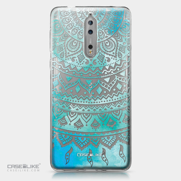 Nokia 8 case Indian Line Art 2066 | CASEiLIKE.com