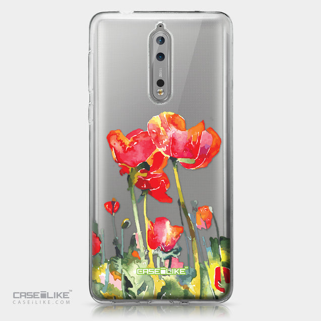 Nokia 8 case Watercolor Floral 2230 | CASEiLIKE.com