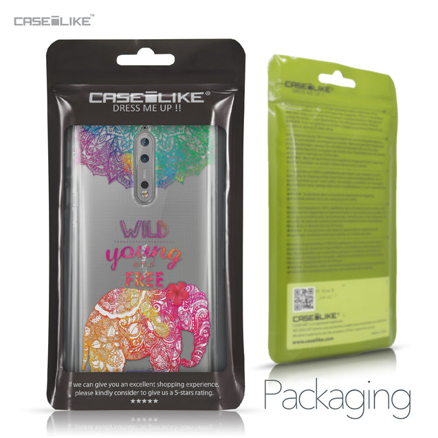 Nokia 8 case Mandala Art 2302 Retail Packaging | CASEiLIKE.com