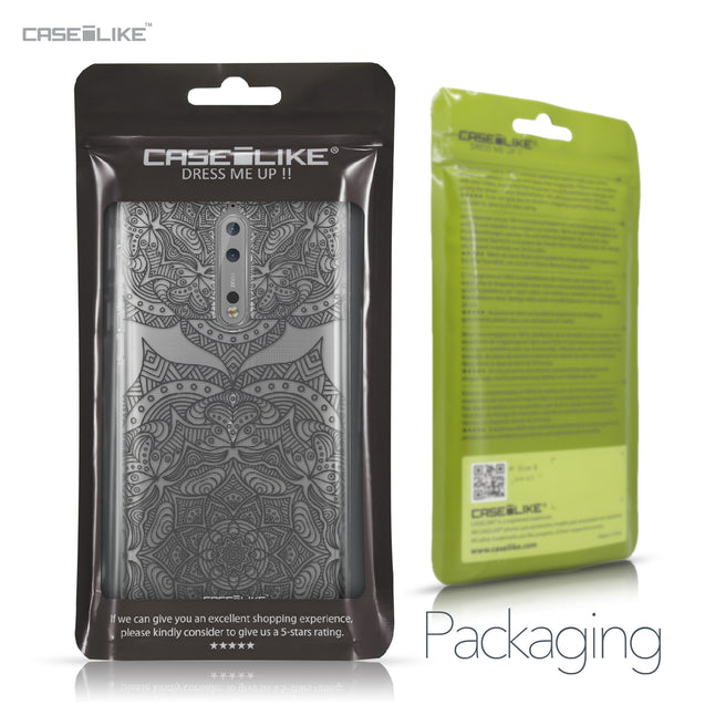 Nokia 8 case Mandala Art 2304 Retail Packaging | CASEiLIKE.com