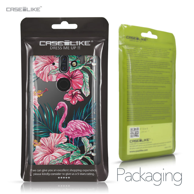 Nokia 9 case Tropical Flamingo 2239 Retail Packaging | CASEiLIKE.com