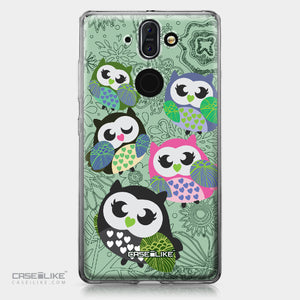 Nokia 9 case Owl Graphic Design 3313 | CASEiLIKE.com