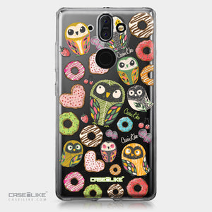 Nokia 9 case Owl Graphic Design 3315 | CASEiLIKE.com