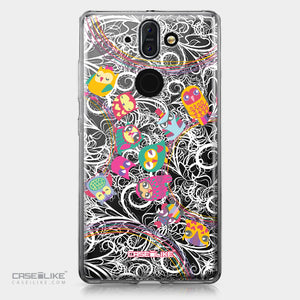 Nokia 9 case Owl Graphic Design 3316 | CASEiLIKE.com