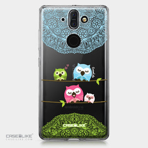 Nokia 9 case Owl Graphic Design 3318 | CASEiLIKE.com