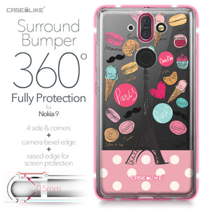 Nokia 9 case Paris Holiday 3904 Bumper Case Protection | CASEiLIKE.com