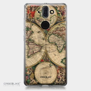 Nokia 9 case World Map Vintage 4607 | CASEiLIKE.com