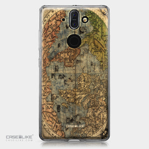 Nokia 9 case World Map Vintage 4608 | CASEiLIKE.com