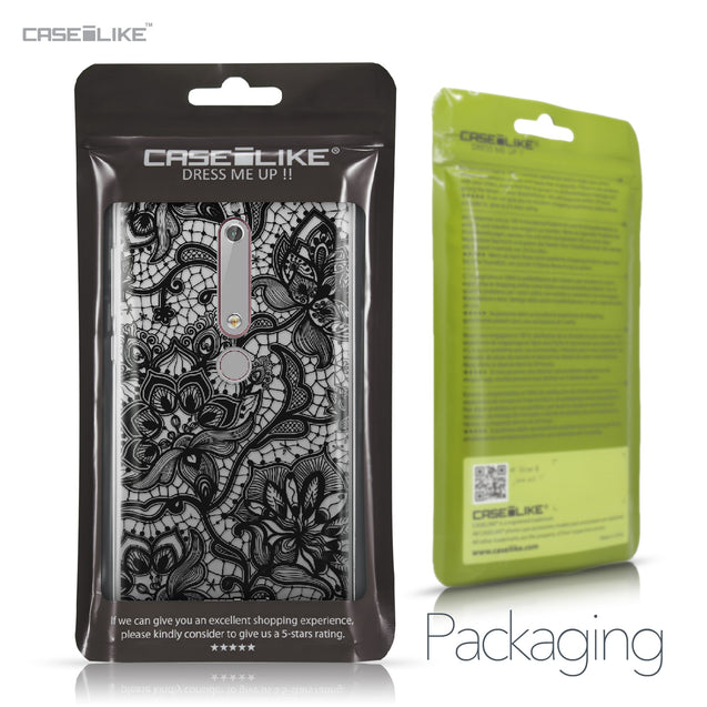 Nokia 6 (2018) case Lace 2037 Retail Packaging | CASEiLIKE.com