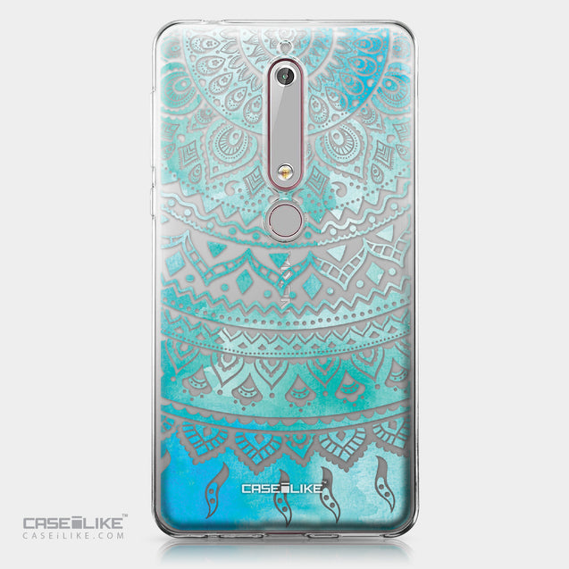 Nokia 6 (2018) case Indian Line Art 2066 | CASEiLIKE.com