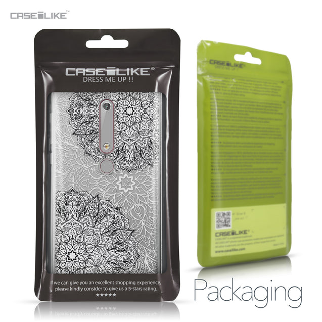 Nokia 6 (2018) case Mandala Art 2093 Retail Packaging | CASEiLIKE.com