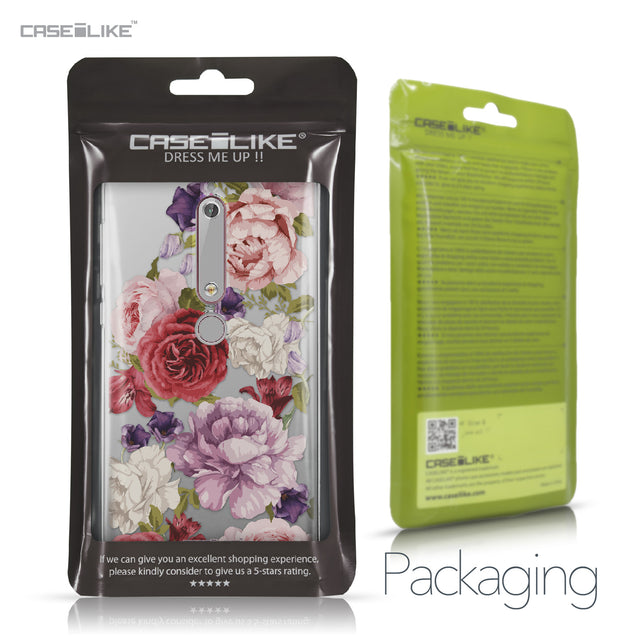 Nokia 6 (2018) case Mixed Roses 2259 Retail Packaging | CASEiLIKE.com