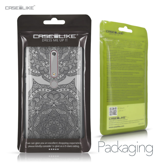 Nokia 6 (2018) case Mandala Art 2304 Retail Packaging | CASEiLIKE.com
